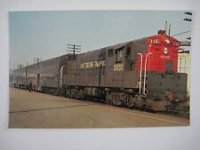 Southern Pacific #3035 116 Fairbanks-Morse H24-66 Redwood City CA 1970 Postcard