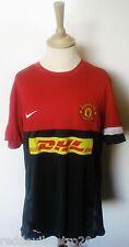 Manchester United DHL Offizielle Nike Fußball Training Shirt (Jugend 13-15 Jahre)