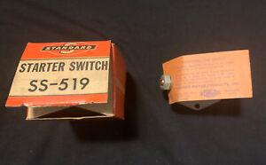 VINTAGE MINT Starter Switch SS-519  1936-1947 Mopar, Studebaker, Willys