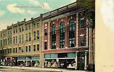 Herkimer Ny Earl Block Stores 1909 Postcard