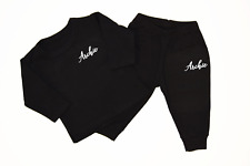 Personalised Fancy Name Black Lounge Set Baby Baby Gifts Newborn