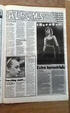MOTLEY CRUE PAT BENATAR CULTURE CLUB REVIEWS 1983  UK ARTICLE / clipping