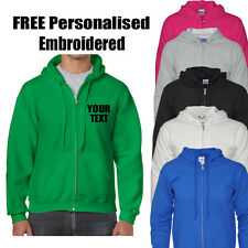 Personalised Embroidered Zip Hoodies Workwear Leisurewear Company Logo,Name Polo