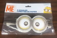 Despicable Me Minion Paper Goggles 8 Pack