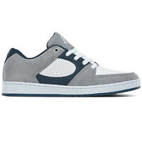 eS Accel Slim (Grey/White/Navy) Men's Skate Shoes