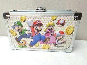 Super Mario Bros Locking Supply Box Vaultz Official Nintendo With Keys