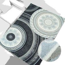 Tappeti grigio rettangoli acrilico per la casa