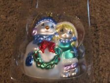 Precious Moments Girl With Snowman Ornament 712018