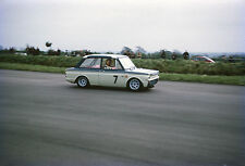 Hillman Imp. Silverstone, 1967. Vintage Kodachrome 35mm slide S139