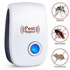 Ultrasonic Pest Repeller UK Plug In Pest Rodent Mouse/Mice/Rat/Spider/Insects