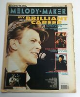Melody Maker Music Newspaper Magazine March 24 1990  David Bowie Interview