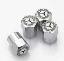 4x Universal Car Wheel Tire Dust Cover Tyre Valve Caps For Mercedes-Benz CLS GLK