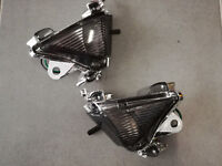 Paire clignotant avant FUMÉ KAWASAKI ZX10R 2004 2005 - Streetmotorbike