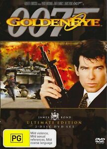 GoldenEye DVD Movie JAMES BOND 007 Pierce Brosnan 2DISC Ultimate Edition NEW R4