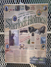 Sherlock Holmes Jigsaw Puzzle 1000 Pieces Cobble Hill NEW Sealed