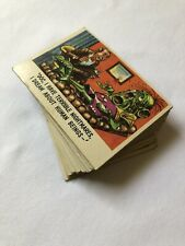 Vintage 1959 Topps Funny Monsters You'll Die Laughing Card Lot Vampires Aliens +