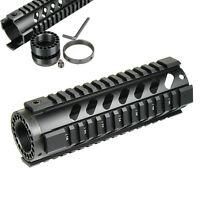 7'' Tactical Rifle Slim Free Float Quad Rail Keymod Handguard Picatinny Rail New