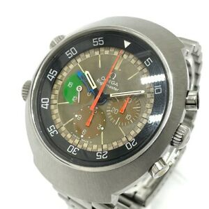 OMEGA 145.013 Flight Master Early Type Chronograph Hand Winding Wristwatch
