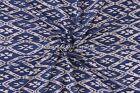 Hand Block Print Fabric Indian Ikat Print Cotton Fabric By Yard Sanganeri Throw