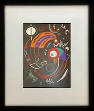 """Comets"" by Wassily Kandinsky (Framed Abstract Fine Art Modern Lithograph)"