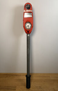 """TORQUELEADER CDS 400 S dial Measuring Torque Wrench - 3/4"""" Hex Drive 80-400nm"""