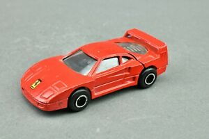 Majorette 280 1990 Ferrari F40 Serie 200 Red Metal