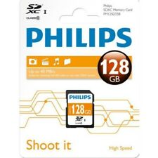 Philips 128 GB SD XC Ultra High Speed Memory Card, Class 10 for Cameras