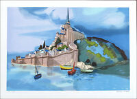 Georges LAMBERT Signed Limited Edition Lithograph Art 21 x 29-1/2