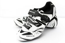 Venzo Mountain Bike Bicycle Cycling Shoes White Black Men's 9.5 US Brand New