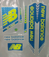 "2016 Model  "" NB -Blue & Fluro "" > "" CASH ON DELIVERY "" Cricket Bat Sticker"