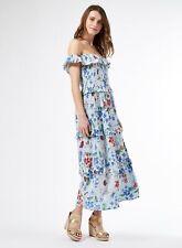 Dorothy Perkins Womens Multi Coloured Floral Crinkle Midi Dress Short Sleeve