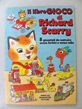 """ Il libro gioco "" Richard Scarry  Mondadori 1° Ed. 1980 XX Rare"