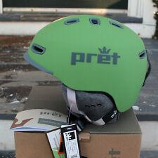 PRET Cynic AT Ski Touring Helmet Size M Agave Green Snowboard Snowsports NIB
