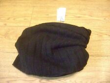 Marc Cain cowl scarf,buff or snood.RRP £95.Alpaca,virgin wool blend.Black.New