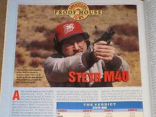 GUNS & AMMO TEST BERETTA URIKA, STEYR M40, PARA-ORDINANCE LDA + 300 ULTRA MAG LD