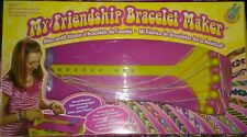MY FRIENDSHIP BRACELET MAKER--Travel Ready with Attached Thread Case--EXC COND