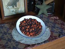 Primitive Unscented Dried Rosehips Putka Pods Potpourri Fixins Mason Jars