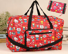 More details for hello kitty foldaway large red waterproof holdall travel luggage bag
