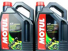 Motul 5000 10W-40 Huile de moto 10W40 4T L'HUILE MOTEUR 4-Takt halbsyntetisch 2X