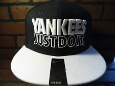 Nike New York YANKEES Just Do It Dri-Fit Fitted NEW Adult Cap 822274-346