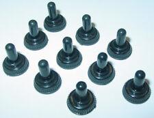 10 Stück Schutzkappe, 6mm, M6 Kippschalter, Staubschutzkappe, Wasserdicht S172