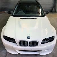 E46 BMW 4 door sedan saloon touring m3 style Fibreglass Bonnet hood drift track