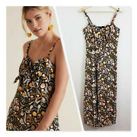 [ SEED HERITAGE ] Womens Tie Front Floral Dress RRP$149.95 | Size AU 6 or US 2