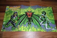 JLA Special 10 -- GREEN LANTERN & SENTINEL mit 3seitigem Klapp-Cover / UNGELESEN