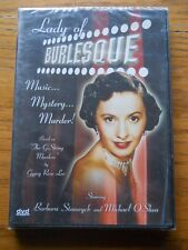 LADY OF BURLESQUE DVD BARBARA STANWYCK BRAND NEW FREE SHIPPING