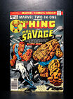 COMICS: Marvel Two-In-One #21 (1976), 1st Black Sun app/Thing & Doc Savage -RARE