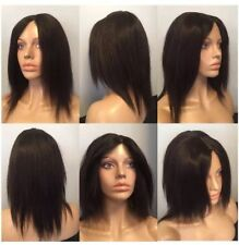Full Lace Unisex Short Straight Wigs & Hairpieces