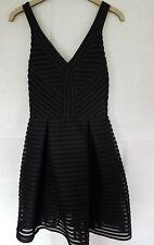 Maje Black Mini Dress Size 2 / UK 10/ Excellent Condition