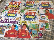 Art Attack, 6 Book Bundle kids painting crafts (c)