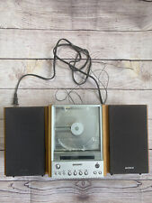 Sony Hcd-Ex1 Compact Stereo System Radio Cd Speakers Shelf Ss Cex1 Tested Works
